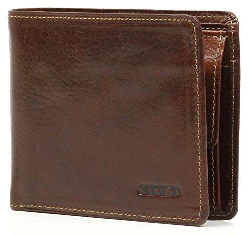 Wallet Giudi | cuir véritable | 6412 / V-Brown