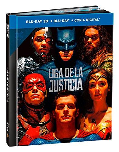 Liga De La Justicia  Blu-Ray 3d + 2d...