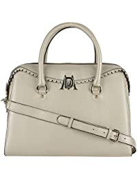 Da Milano LB-4204 Light Gold Leather Handbag