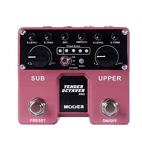 Mooer Tender Octaver Pro Gitarre Pedal