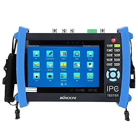 KKmoon 7 pouces CCTV écran ONVIF IP Caméra Testeur Câble