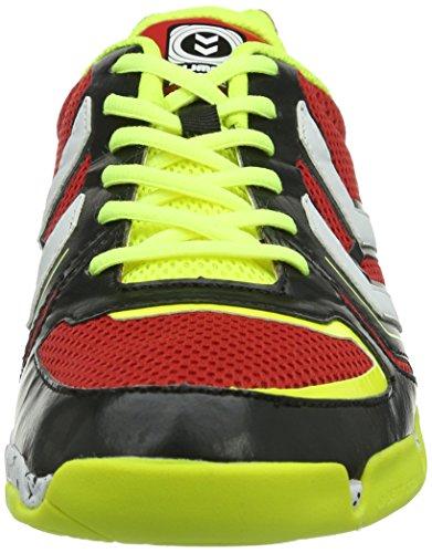 Hummel CELESTIAL COURT X5 60-057-5997 - Scarpe sportive Uomo Multicolore (Mehrfarbig (Flame Scarlet 3015))