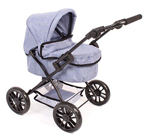 Bayer Chic 2000 556 50 - Puppenwagen Picobello, Jeans blau