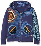 Desigual Mädchen Sweatshirt Sweat_Dante, Blau (Twilight Blue 5128), 116 (Herstellergröße: 5/6)