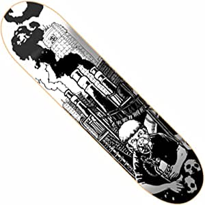 Sect Pollute Skateboard Deck Only- 7.5""