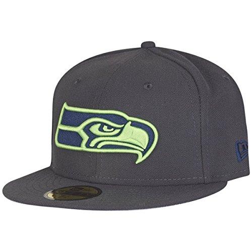 be341b5ecc6d New Era 59Fifty OCEAN Cap - NFL Seattle Seahawks - 7 1 4