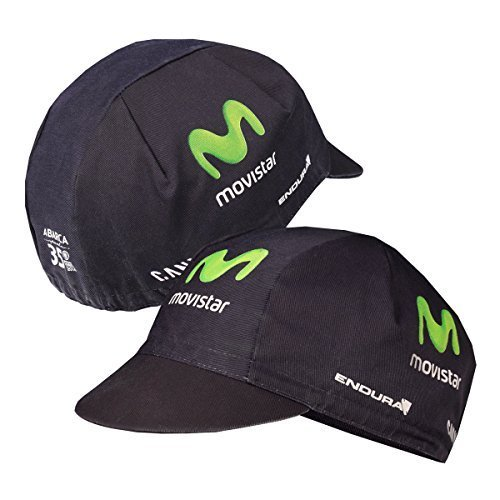 ENDURA 2015 TEAM ISSUE MOVISTAR CYCLING CAP   ET6058 (TEAM PRINT   ONE SIZE) BY ENDURA