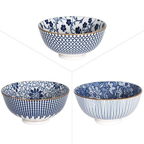 Coupelle 12cm EVASEE SICHUAN porcelaine assorti - Lot de 3 - Table Passion