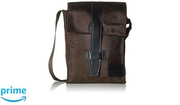 Farbe schwarz Sch/önfelderSkin Tasche im Hochformat mit /Überschlag Buchh/üllen-Tasche mit Tragegurt in Material Nylon//Leder JurSkin schwarz