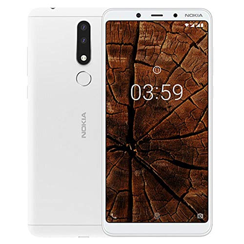 "Nokia 3.1 Plus 6.0"" 16GB Ram 2GB Dual Sim Bianco Garanzia ITALIA"