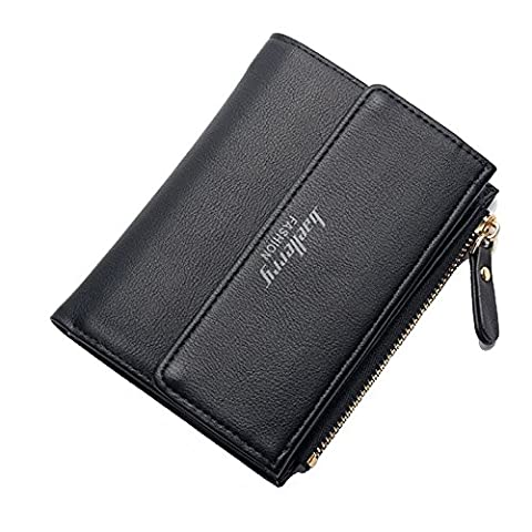 Ulisc Fashion Leather Women Short Wallets Small Wallet Coin Pocket Credit Card Wallet Female Purses Money Clip