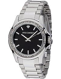 Yves Camani MONTPELLIER Damen-Armbanduhr Analog Quarz Edelstahl - YC1091-B