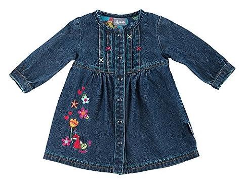 Sigikid Baby-Mädchen Jeans Kleid Blau (Indigo 212), 86 (Jeans Kleid)