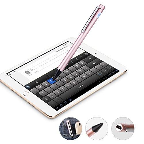 Alluminio Stilo attivo, più Touch capacitivo fine punto di 2.0mm 2packs- per superfici, Smart Phone, iPad, iPhone, Samsung, Tablet Android, Tablet PC, Windows 8e 10, libangtai