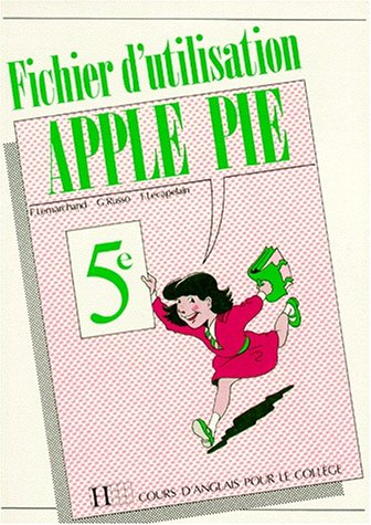 Apple pie, 5e (édition 1989). Fichier d'utilisation