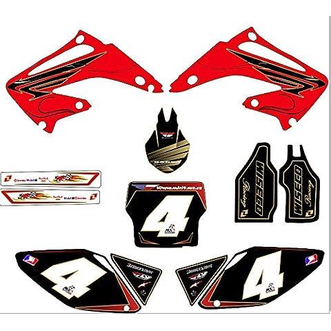Honda CR 125, a partir de2003,Moto-X MX - Adhesivo decorativos para motocicleta, no originales