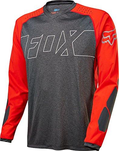 Fox Langarm-Jersey Explore Schwarz Gr. S (Fox Langarm-trikot Racing)