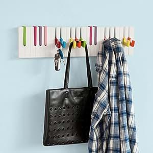 garderobe stange halterung haken dekorativ. Black Bedroom Furniture Sets. Home Design Ideas