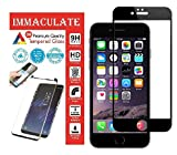 Best Iphone6 Screen Protectors - IMMACULATE® [5D] [Full Glue] [Edge to Edge] Tempered Review