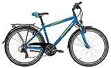 Kinderfahrrad 24 Zoll blau - Pegasus Avanti Jungen Bike - Shimano Kettenschaltung, STVZO Beleuchtung, Gepäckträger