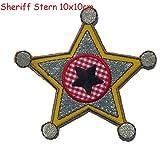 2toppe termoadesive tessuto Appliques Sheriff Star 10x 10e Dino Stegasaurus 12x 7cm TrickyBoo design Zurich