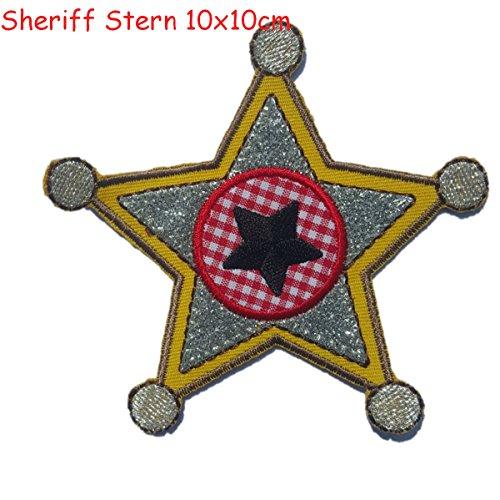 2-ecussons-patch-appliques-etoiles-sherif-9x10cm-guitare-11x10cm-thermocollant-brode-broderie-pour-v