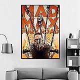 taoyuemaoyi Mad Max Fury Road Artwork Cover Film Poster Film Canvas Poster Wall Art Print Decorazioni per Bambini Home Decor 40 * 60Cm