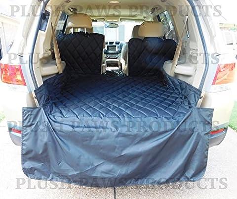 Imperméable en peluche pattes Cargo Liner, Bumper Rabat, lavable en machine, durable, garantie à vie–Taille standard (Noir