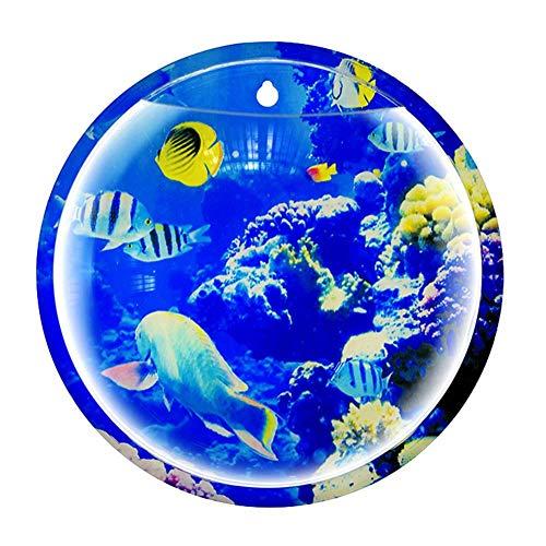 MondayUp Aquarium-Schüssel-an der Wand befestigte Aquarium-Vasen-Betriebsblumentopf-Inneneinrichtung
