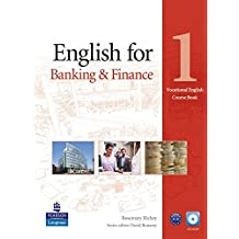 English for Banking & Finance Level 1 Coursebook and CD-ROM Pack (Vocational English)