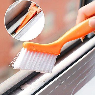 JY$ZB Spazzola finestra pulizia pista con piccola pala progettato casa (colore casuale)