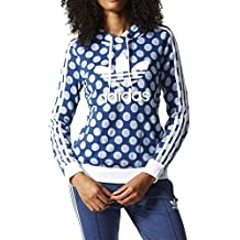 adidas Slim Sudadera, Mujer, Azul (Azurea / Ópaper), 40