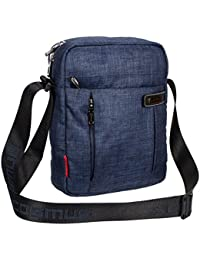 COSMUS Polyester Navy Blue Sling & Cross-Body Bag For Unisex