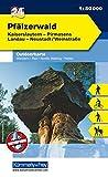 Outdoorkarte 24 Pfälzerwald 1 : 50.000: Wandern, Rad, Nordic Walking (Kümmerly+Frey Outdoorkarten Deutschland) -