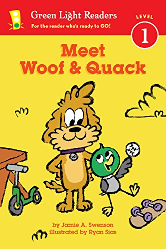 Meet Woof and Quack (Green Light Readers Level 1) (English Edition)