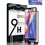 SGIN Huawei P20 Verre Trempé, [Lot de 2] Film en Verre Trempé écran Protecteur, 9H Dureté, sans Bulles, Anti Rayures, Coque Compatible, Facile à Installer, pour Huawei P20 - Noir