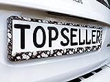 2 x Kennzeichenhalter Nummernschildhalter Totenkopf Skull Autozubehör Auto Car