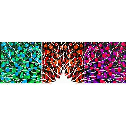 Hamilton Abdeckung (Triple-Abdeckung dekorative Malerei Art Inkjet schöne romantische einfache Lackier- 40cm * 40cm Malerei * 3)