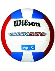 Wilson Volleyball, Outdoor, Freizeitspieler, AVP Quicksand Aloha, Weiß/ Blau/ Orange