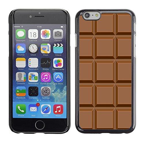 Graphic4You Praline Schokolade Design Harte Hülle Case Tasche Schutzhülle für Apple iPhone 6 / 6S Design #2