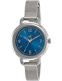 Fastrack Analog Blue Dial Women's Watch-6123SM03