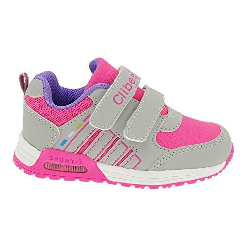 GALLUX - Kinder Sneaker Jungen Mädchen Schuhe Grau