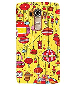 LG G4 MULTICOLOR PRINTED BACK COVER FROM GADGET LOOKS