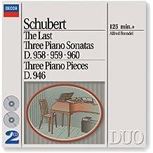 Schubert: The Last Three Piano Sonatas (2 CDs)