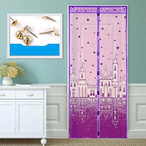 Sommer anti moskito magnetischen vorhang, schlafzimmer - Tür, Fenster aus stoff-C-90x205cm(35x81inch)