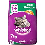 Whiskas Adult Cat Food, Tuna, 7 Kg K