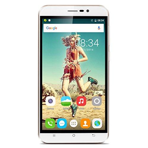 5.5 Pollici CUBOT Dinosaur IPS HD 1280*720 pixel 4G Smartphone FDD-LTE Android 6.0 MT6735A Quad Core 1.3GHz 3GB/16GB 64bit 5.0MP 16.0MP 4150mAh Cellulare Doppia SIM Bianco