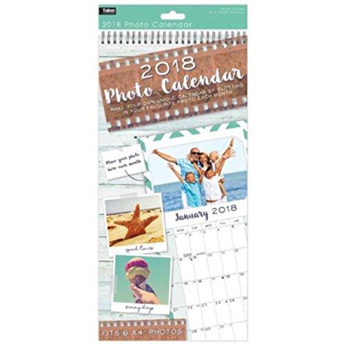Calendario Con Foto Personali.Calendario 2017 Con Foto Personalizzate 15 2 X 10 2 Cm Crea