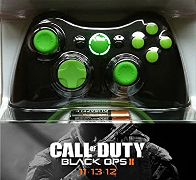 Xbox 360 Modded Custom Green Controller