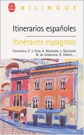 Itinerarios españoles -Itinéraires espagnols, édition bilingue